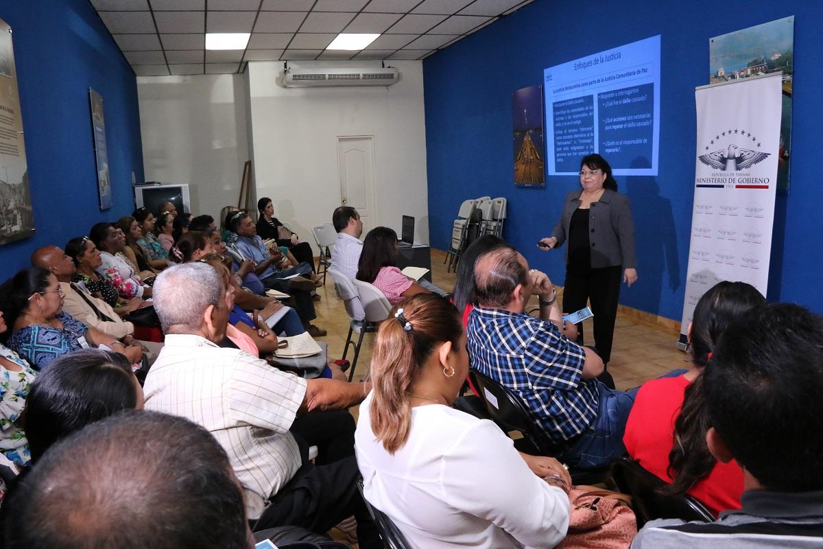 Veraguas se prepara para la Justicia Comunitaria de Paz